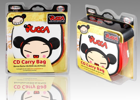 PORTA CD/DVD PUCCA  61455
