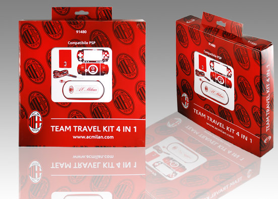TEAM TRAVEL KIT 4 IN 1 MILAN PSP