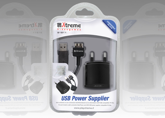 POWER ADAPTER PSP VITA XTREME