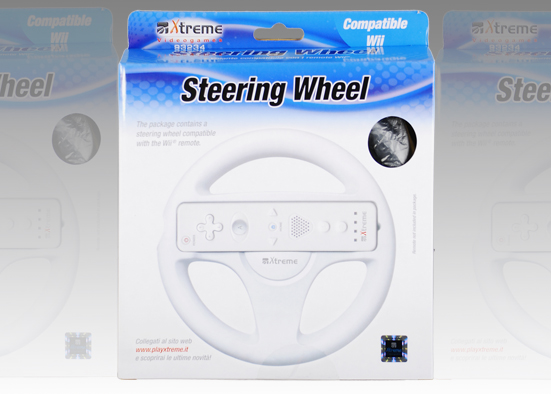 WII RACING WHEEL pro