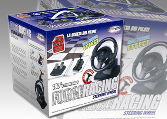 RACING WHEEL COMP. PLAYS3