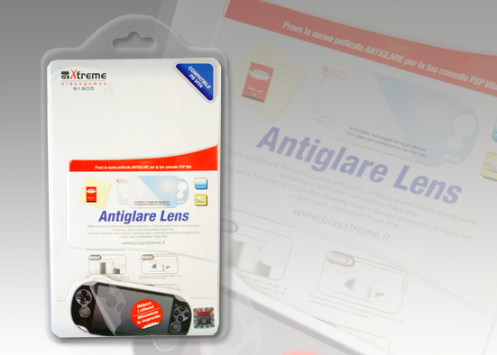 ANTIGLARE PROTECTION LENS PSP VITA