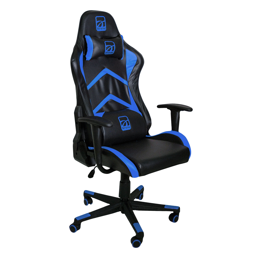 Sedia gaming  anatomica MX15 BLU/BLACK