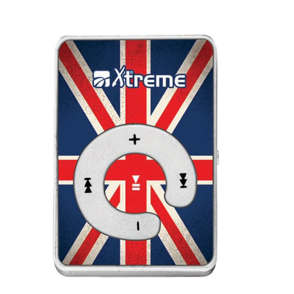 LETTORE MP3+Micro-SD 8GB UK