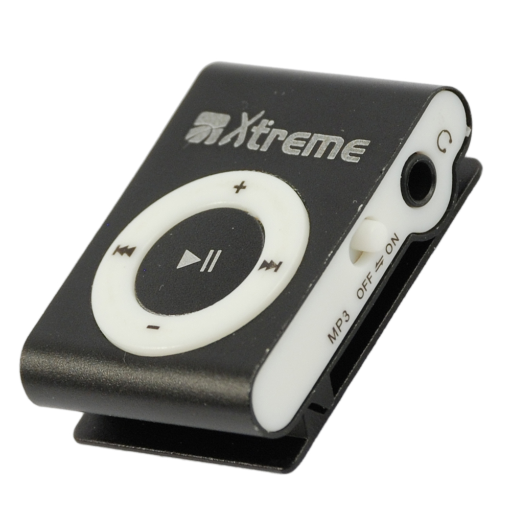 LETTORE MP3+Micro-SD 4GB Black