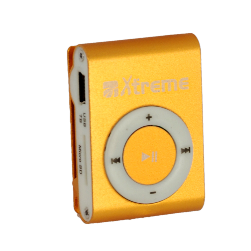 LETTORE MP3+Micro-SD 4GB GOLD