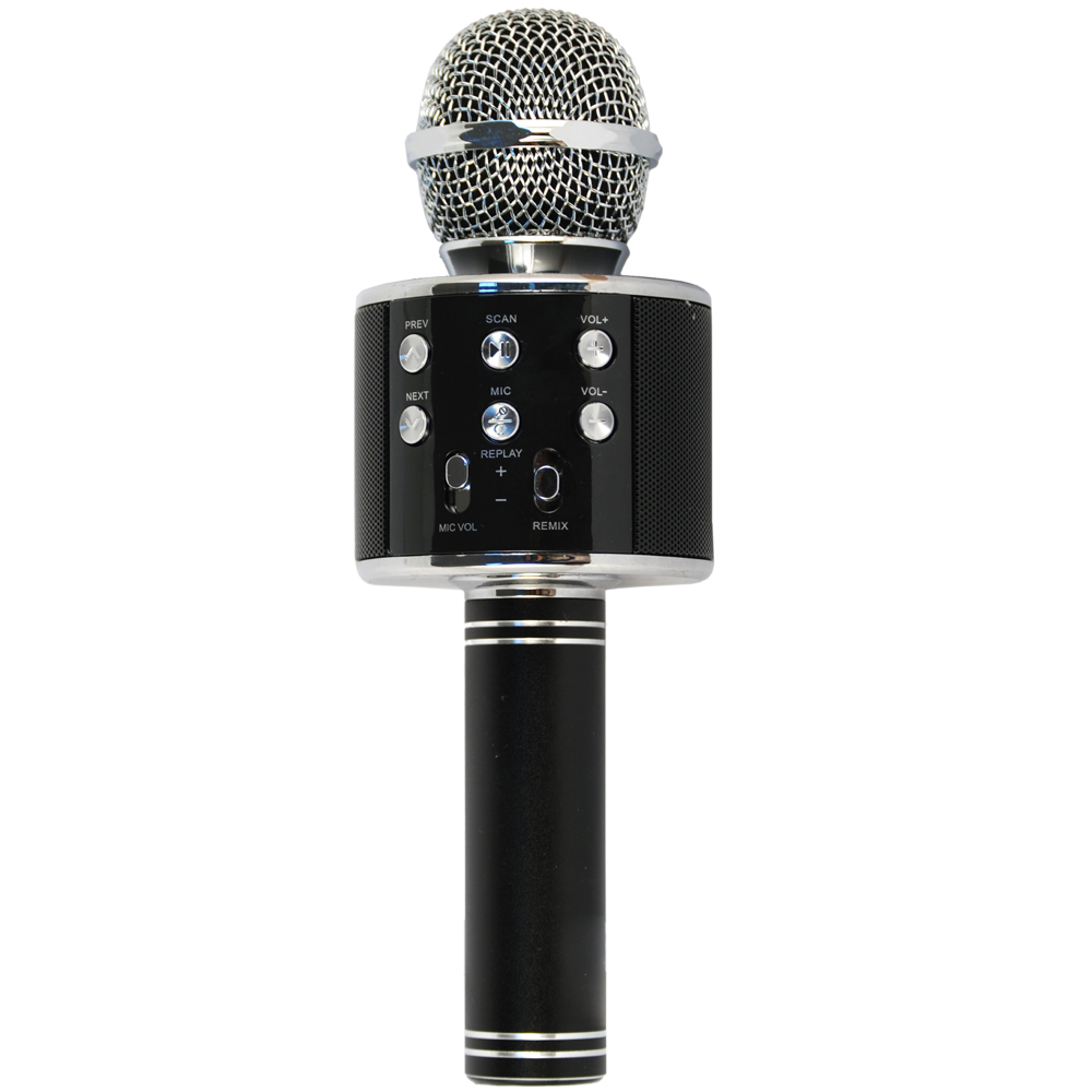 Microfono Karaoke Hollywood 27837 black