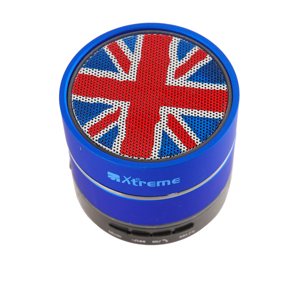 SPEAKER Wireless Bt UK FLAG 3W BLU