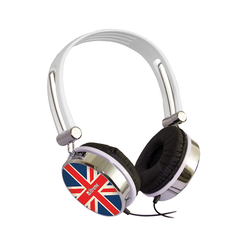 Cuffie Stereo UK FLAG