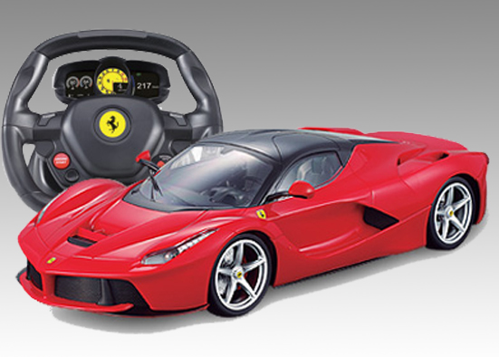 MJX FERRARI Red 1/14+m/wheel 3512A