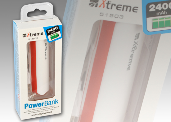 POWER BANK DA 2400mAh Black
