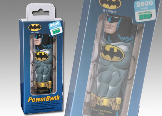 POWER BANK DA 2600mah BATMAN