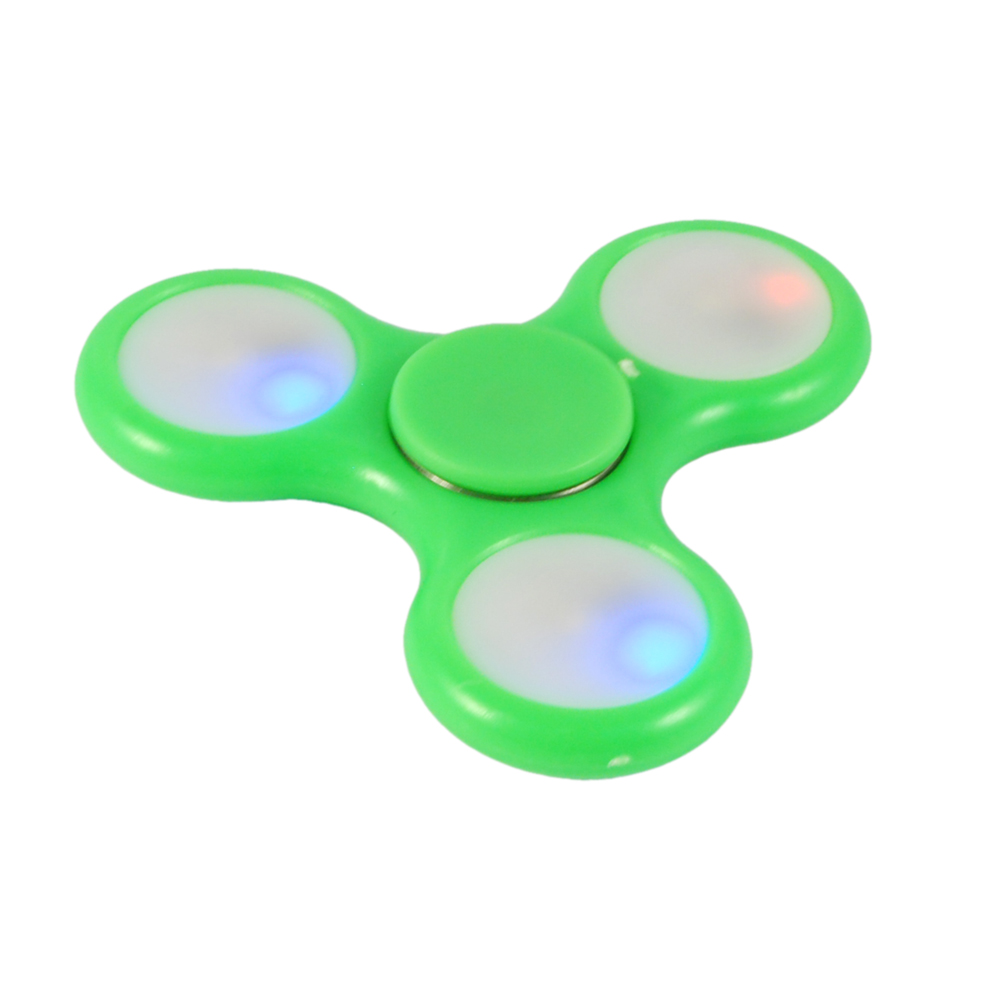 X-2 FINGER SPINNER CON LUCI LED