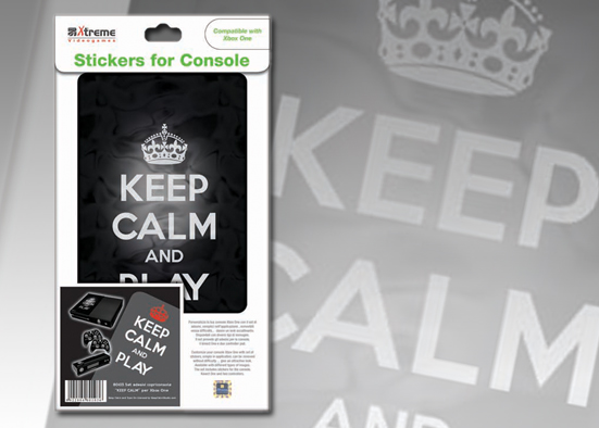 XB ONE STICKER KEEP CALM
