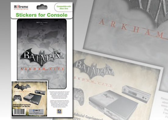 XB ONE STICKER BATMAN ARKHAM CITY M 2
