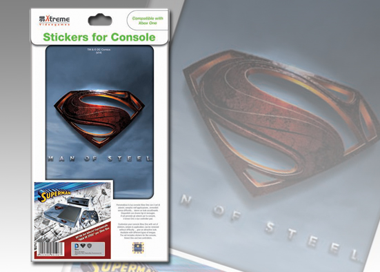 XB ONE STICKER SUPERMAN MAN OF STEEL