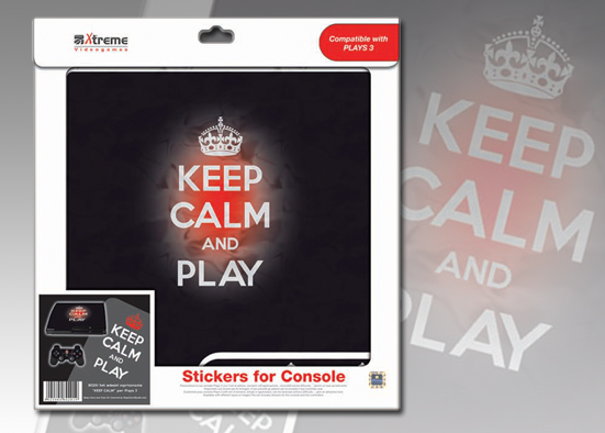 PLAYS3 STICKER KEEP CALM