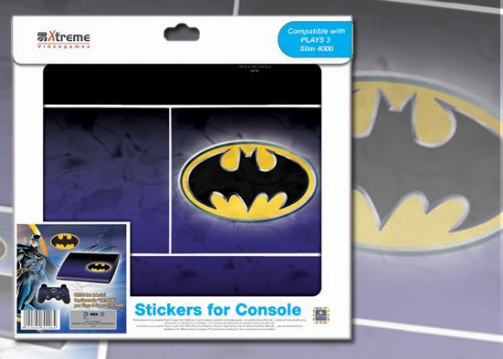 PLAYS3 STICKER BATMAN