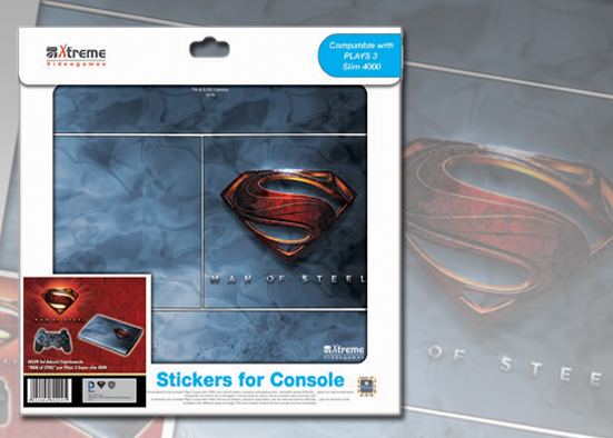 PLAYS3 STICKER SUPERMAN MAN OF STEEL