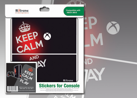 XB 360 STICKER KEEP CALM
