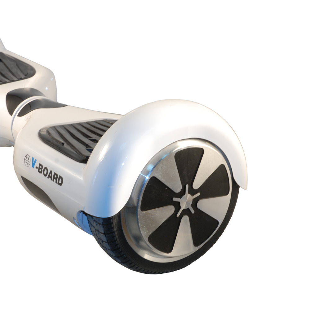 WalkyBoard  Hoverboard BT white+led