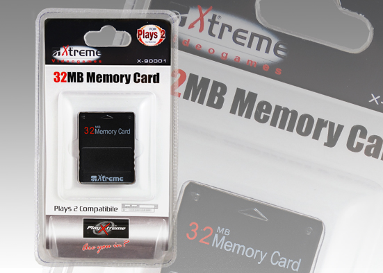PLAYS2 MEMORY CARD 32MB compatibile