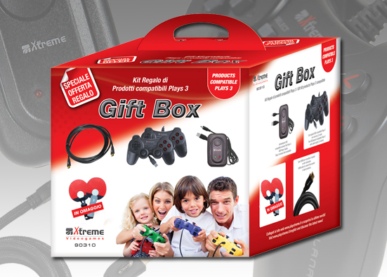 KIT GIFT BOX PS3 XTREME