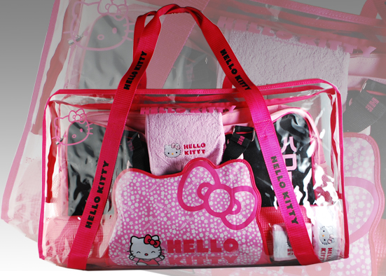 WII KIT HELLO KITTY TRAVEL FITNESS KIT