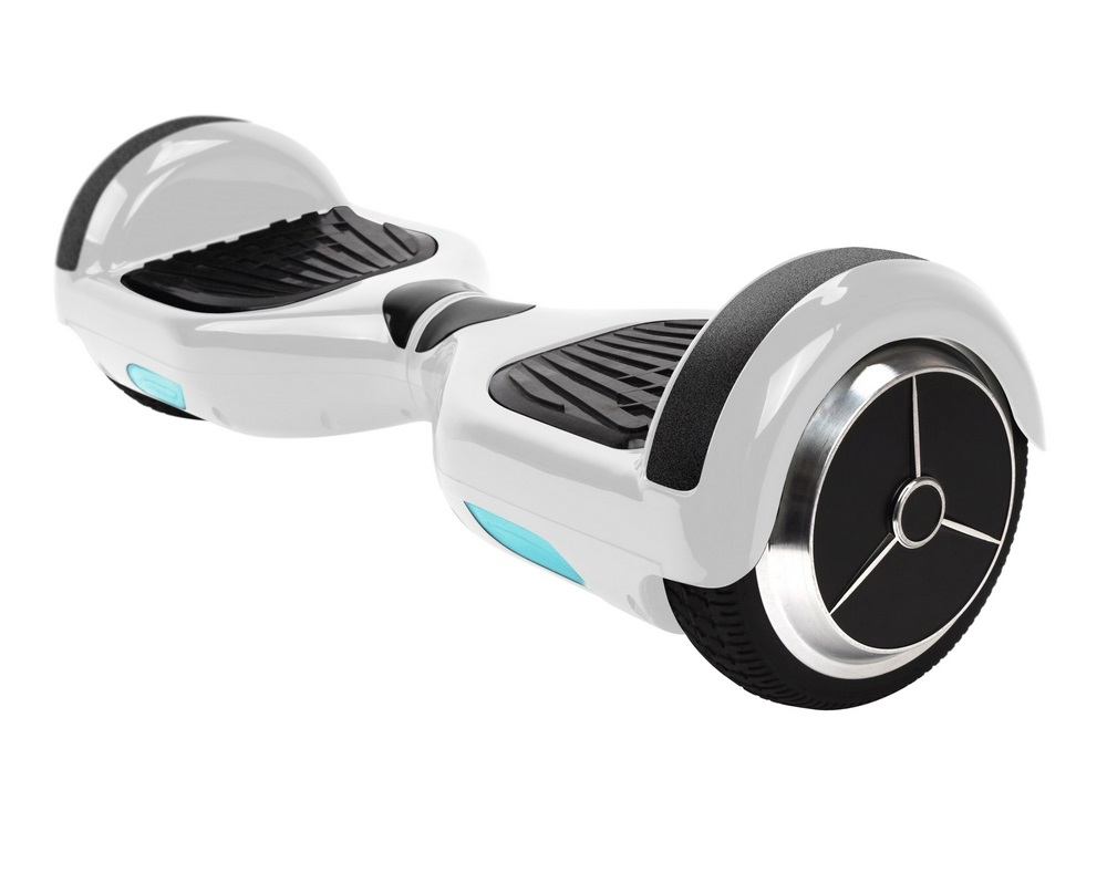iconBIT Hoverboard Smart Scooter White
