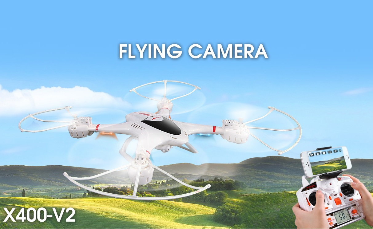 Quadcopter X400-V2  2,4Ghz T00154